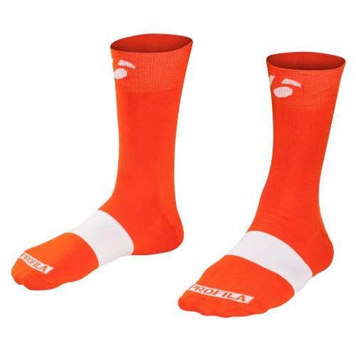 Bontrager Κάλτσες Race 13cm Orange
