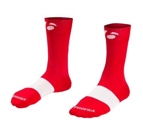 Bontrager Κάλτσες Race 13cm red
