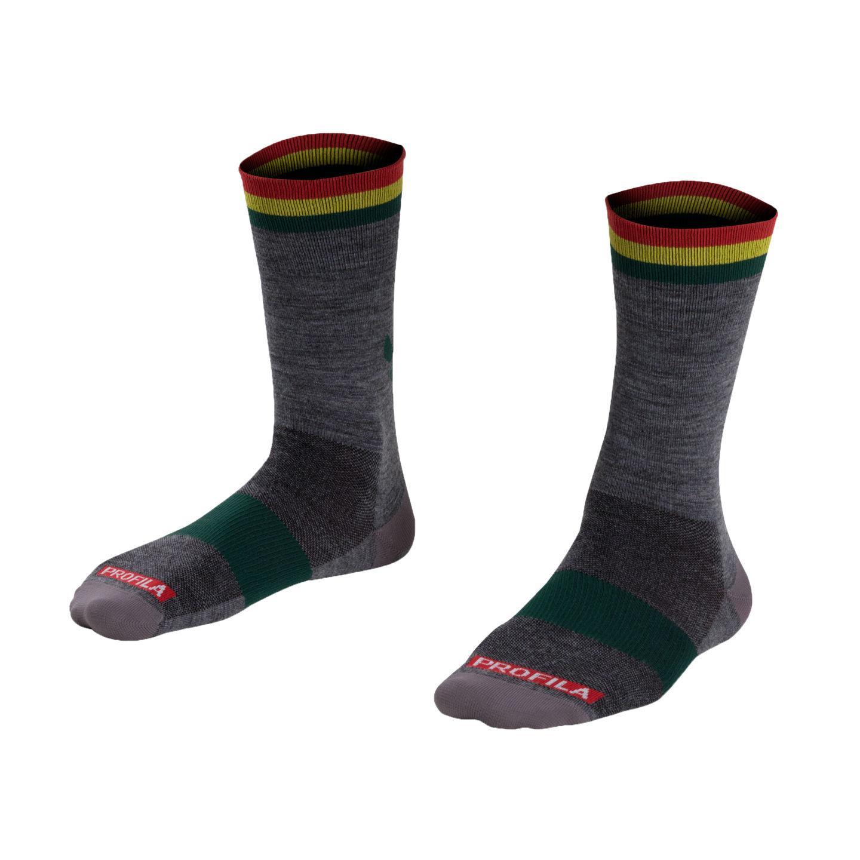 Bontrager Κάλτσες Race Wool 13cm
