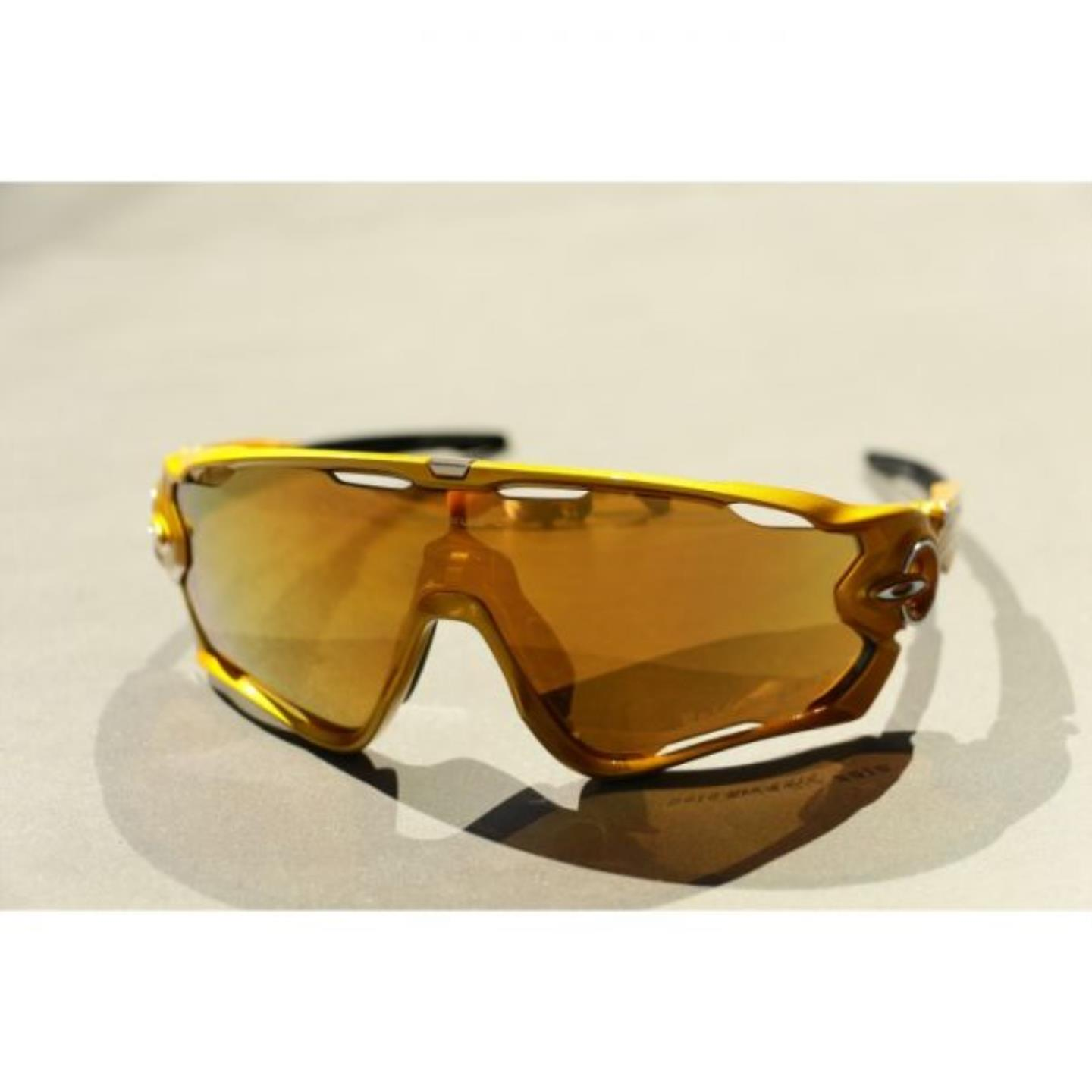 Oakley γυαλιά Jawbreaker - Gold Fire Polarized