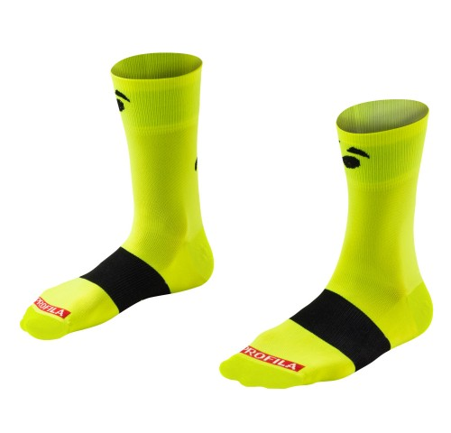 Bontrager Κάλτσες Race 13cm yellow