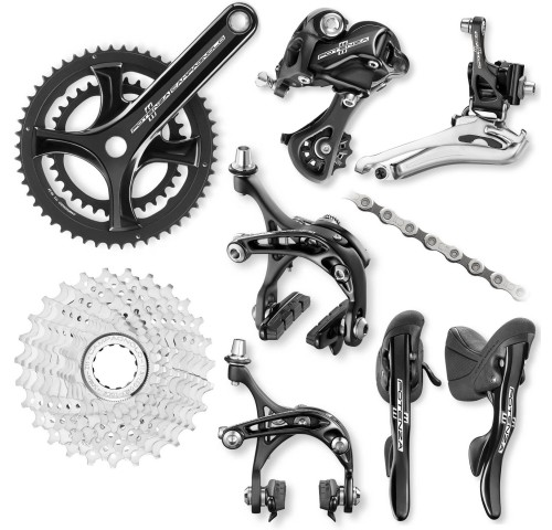 Campagnolo Potenza 11sp black/silver Group