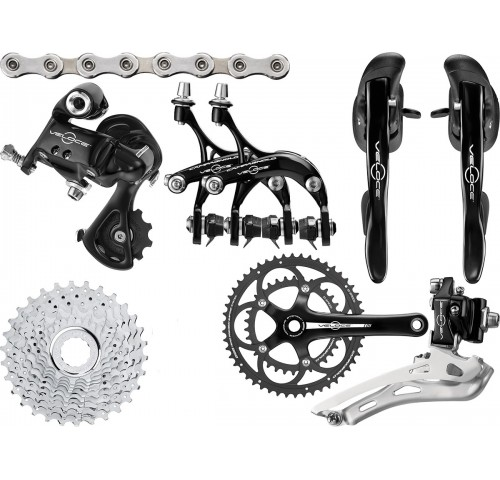 Campagnolo Veloce 10sp black/silver Group