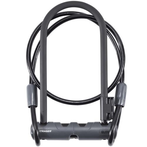 Bontrager-Abus κλειδαριά Elite U-Lock με καλώδιο 12mx9in