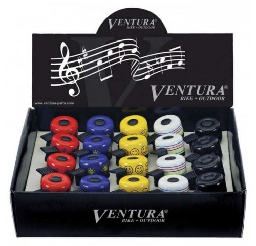 Ventura Κουδουνάκι Mini Mtb με χρώματα