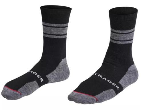 Bontrager Κάλτσες Race Crew Wool 13cm